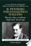 Il pensiero psicoanalitico italiano