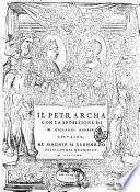 Il Petrarcha con la spositione di m. Giouanni Andrea Gesualdo. ..