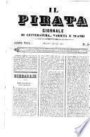 Il pirata giornale artistico, letterario, teatrale