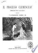 Il processo Clemenceau memorie dell'accusato di Alessandro Dumas figlio