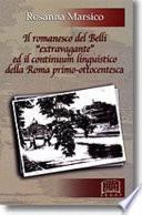 Il Romanesco Del Belli Extravagnte