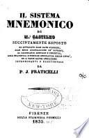 Il sistema mnemonico di Mr. Castilho succintamente esposto ...