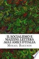 Il Socialismo E Mazzini