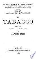 Il tabacco lettura fatta in Firenze da Alfonso Baldi