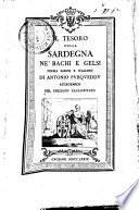 Il tesoro della Sardegna ne' bachi e gelsi poema sardo e italiano di Antonio Purqueddu accademico del collegio cagliaritano