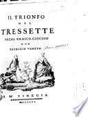 Il trionfo del tressette poema eroico-giocoso d'un patrizio veneto