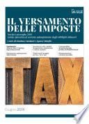Il versamento delle imposte