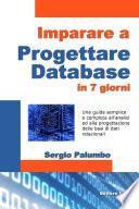 Imparare a progettare database in 7 giorni