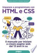 Imparare a programmare con HTML e CSS