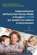 Implementazione dell'Early Start Denver Model in Gruppo (G-Esdm) per bambini con autismo in età prescolare