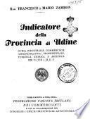 Indicatore della Provincia di Udine