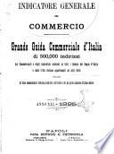 Indicatore generale del commercio grande guida commerciale d'Italia di 500.000 indirizzi