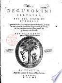 Indice degl' uomini illustri ..., del signor Ieronimo Ruscelli