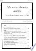 Informatore botanico italiano