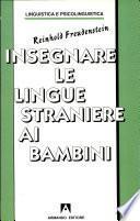 Insegnare la lingua straniera ai bambini