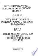 International Conference of Economic History