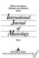 International Journal of Musicology