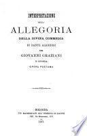 Interpretazione della allegoria della Divina commedia di Dante Alighieri
