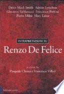 Interpretazioni su Renzo De Felice