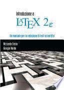 Introduzione a LaTeX2e