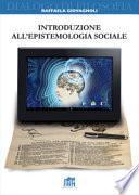 Introduzione all'epistemologia sociale