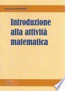 Introduzione alla attività matematica