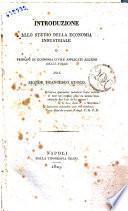 Introduzione allo studio della economia industriale o principj di economia civile applicati all'uso delle forze del signor Francesco Fuoco