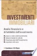 Investimenti immobiliari. Con CD-ROM