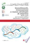 Investimenti, innovazione e nuove strategie di impresa