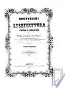 Istituzioni di architettura statica e idraulica