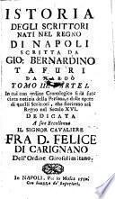 Istoria degli scrittori nati nel regno di Napoli (etc.)