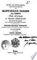 Istoria del ritrovamento delle spoglie mortali di Raffaello Sanzio da Urbino