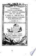 Istoria politica e letteraria della Grecia libera