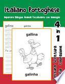 Italiano Portoghese Imparare Bilingue Animali Vocabolario con Immagini