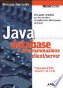 Java database e programmazione client/server