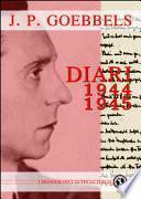 Joseph Goebbels. Diari 1944-45