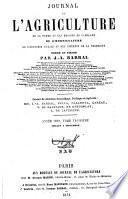 Journal de l'agriculture (Paris)