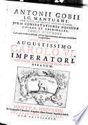 Juris consultationes decisivae civiles & criminales: Opus posthumum