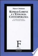 Konrad Lorenz e l'etologia contemporanea