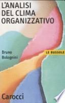 L'analisi del clima organizzativo