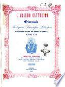L' Araldo cattolico giornale religioso, scientifico, letterario