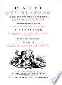 L'arte del blasone dichiarata per alfabeto