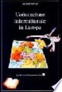 L'educazione interculturale in Europa