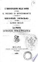 L'emancipazione delle donne ovvero Il regno di Bradamante [Andrea Codebo]