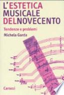L'estetica musicale del Novecento