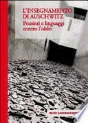 L'insegnamento di Auschwitz