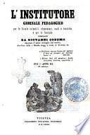 L'istitutore giornale pedagogico per le scuole infantili, elementari e tecniche e per le famiglie