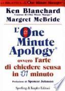 L'One Minute Apology ovvero l'arte di chiedere scusa in 1 minuto