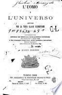 L'uomo e l'universo letture per la terza classe elementare