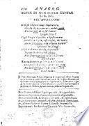 L'Urania. Anagogici misteri sopra il nome santiss. Maria. Con due madrigali sopra ciascheduno mistero. I primi di diuersi nobili ingegni, e'secondi dell'autore. MS. notes